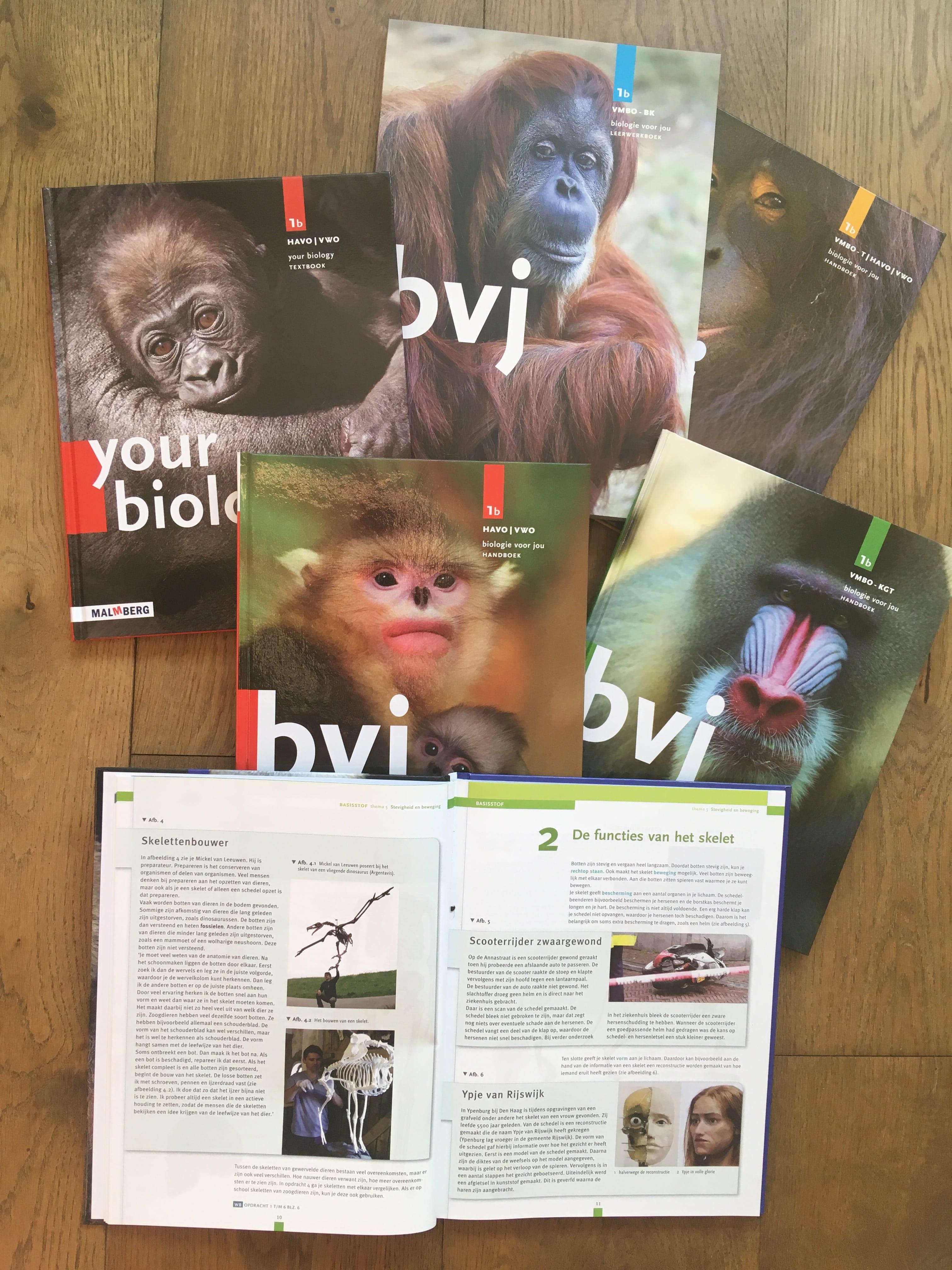 Expo & Educatie | Biologie voor jou | Schoolboek