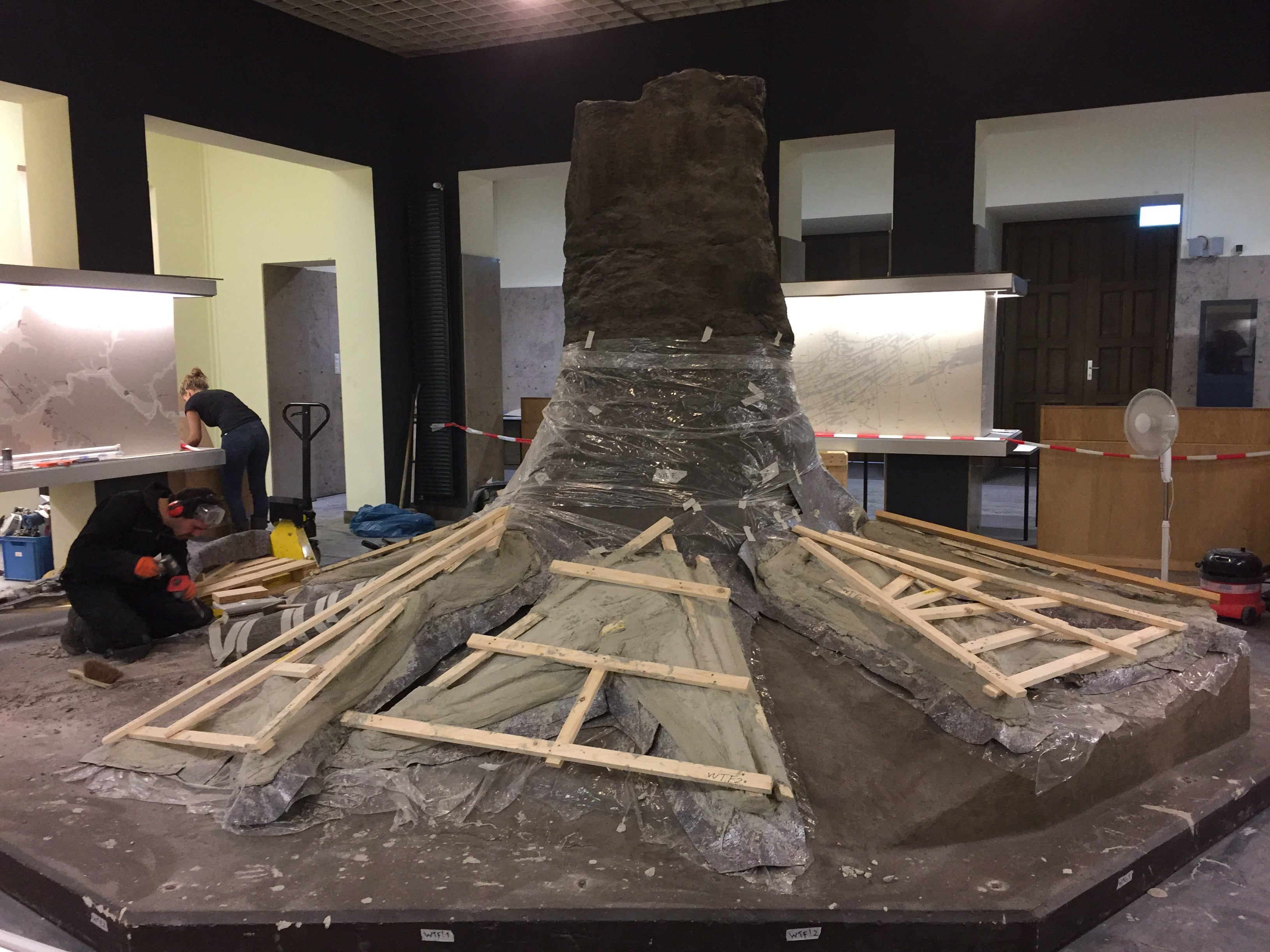 Fossielen & Dinosauriërs | Demontage Fossiele Boom I | Bergbaumuseum Bochum, Duitsland