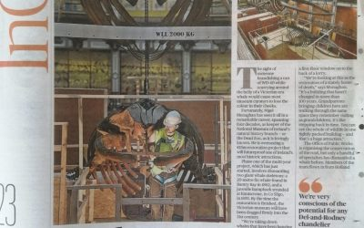 The Sunday Times   demontage skelet Bultrug   National Museum of Ireland –  Natural History   Dublin (IRL)